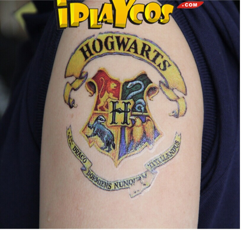 6 Pcs 3 Style 1 Lote Serpentard Harry Potter Colore Etanche