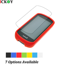 купить Outdoor Bike Bicycle Cycling Silicone Rubber Skin Case + LCD Screen Cover Protector For Garmin GPS Edge 1030 Accessories дешево