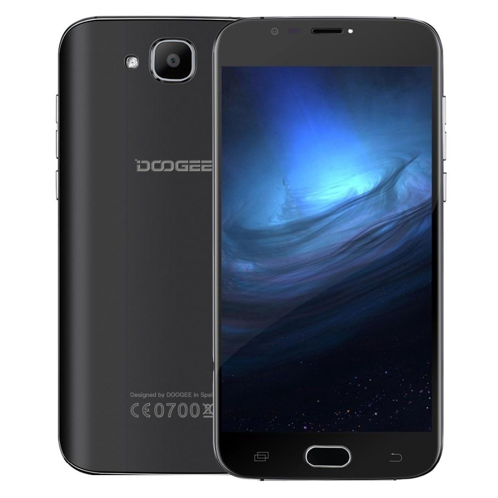 Original Doogee X9 Mini Android 6.0 Cell Phone 5.0 Inch MT6580 Quad Core Smartphone 1GB RAM 8GB ROM 2000mAh Unlock Mobile Phone