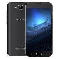 Oryginalny Doogee X9 Mini Android 6.0 Telefon komórkowy 5.0 Cal MT6580 Quad Core Smartphone 1 GB RAM 8 GB ROM 2000 mAh Odblokować Telefon komórkowy