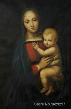 Madonna del Granduca Raphael sanzio reproduction art High quality Handpainted