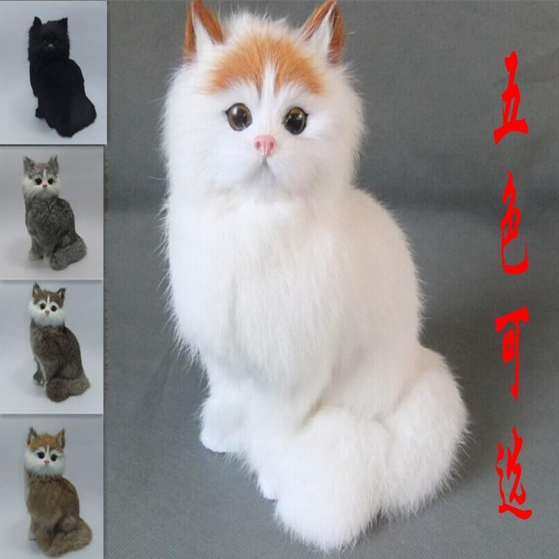 Sevimli kitty / kitty kedi oyuncak / ev dekorasyon kedi oyuncak - Ev Dekoru - Fotoğraf 1