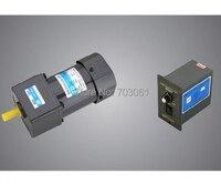 60W speed regulating motor AC speed control gear motor Micro AC gear motor ratio 30:1