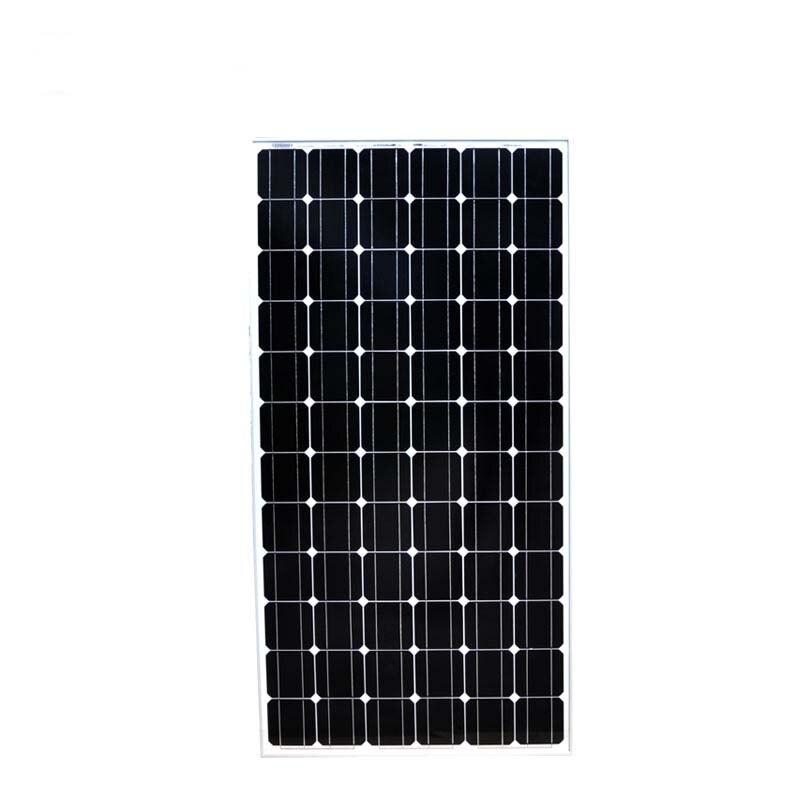 TUV Paneau Solaire Puissant  24v 200w 5 Pcs Panneaux Solaires Maison 1KW 1000 Watt Solar Battery Charger Power System