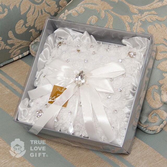 Pierścień Poduszka Materiały ślubne Dekoracje ślubne Akcesoria