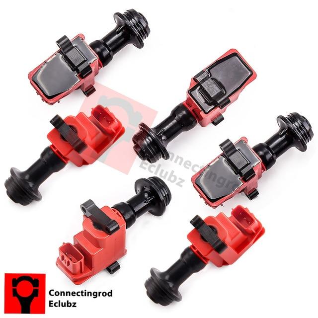 Ignition Coil Pack For Nissan Skyline R34 RB20 RB25 RB20DE RB25DE RB25DET WHC34 WGC34 LAUREL HC35 GTT STAGEA NEO x 6pcs