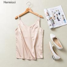 Satin V Neck Camisole Tank Casual Summer Backless Women Silk Halter Tops Sexy Sleeveless Sleepwear Camis Bralette