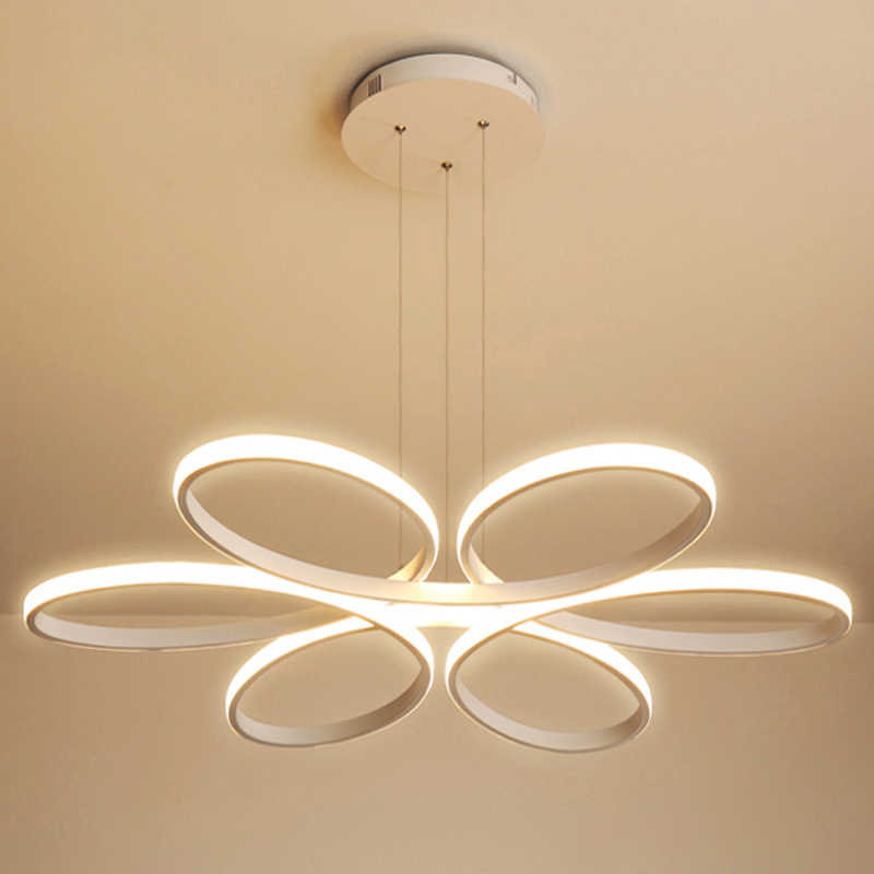 Современный светодиодный подвесной светильник для столовой гостиной лампа для спальни в стиле модерн светодиодный подвесной светильник с затемнением домашнего освещения