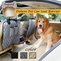DogLemi Dog Supplies Dog Carriers Bags Deluxe Vehicle Car Travel Pet Dog Car Seat Fence Safety Barrier Drop shipping JUN6