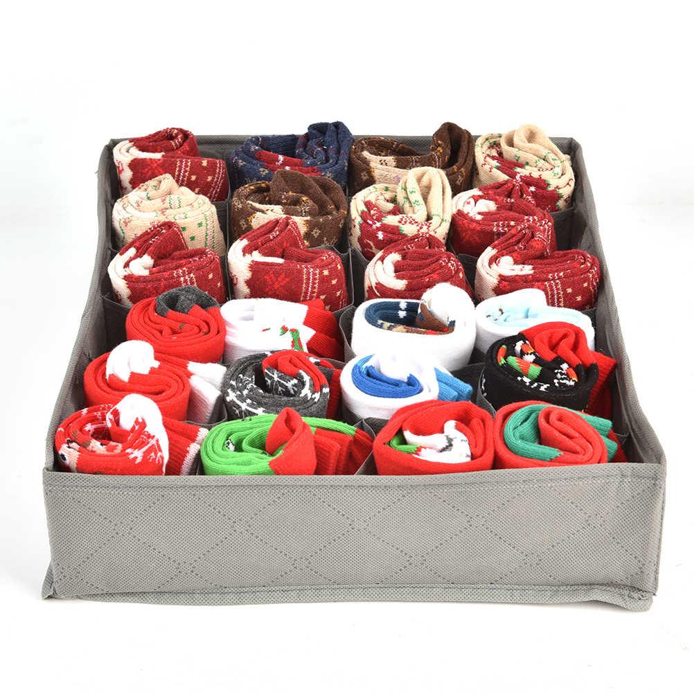 Бюстгальтер галстук носки складной контейнер органайзеры различные сетки дизайн простой Nowoven домашняя коробка для хранения нижнее белье Органайзер коробки