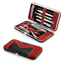 Nail Art Manicure Set Portable 10 Pieces Stainless Steel Nail Clippers Nail Scissors Nail Clippers Suit Almighty HB88