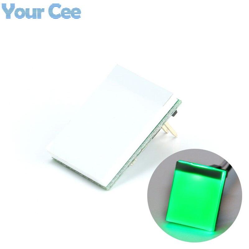 1 шт., зеленая Цветовая проекция, емкостный сенсорный модуль переключателя, Новое поступление