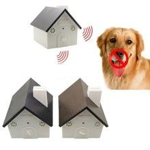 Два светодиодный Батарея открытый кора Управление; против лая собаки Управление 9 V Батарея приведенный в действие в новейшем скворечник Форма более профессиональными