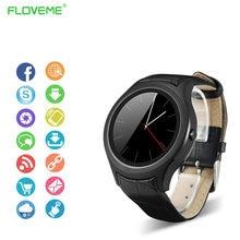 FLOVEME Lujo Reloj Smartwatch X3 Sim GPS Tarjeta Sim Soporte de Medición de la Frecuencia Cardíaca Podómetro Reloj Inteligente Inteligente Electrónica
