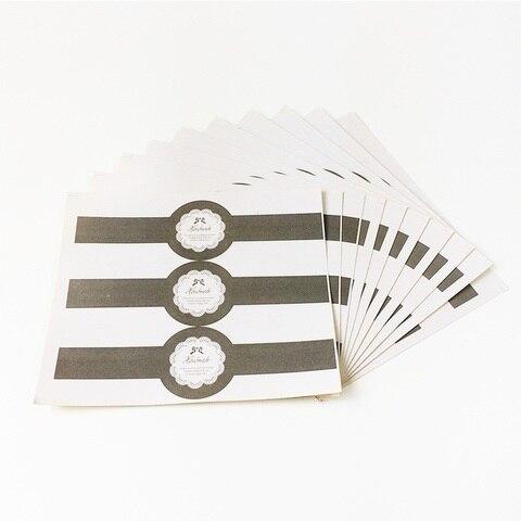 300 pcs lote design relogio de pulso do vintage rendas selo da etiqueta etiquetas de