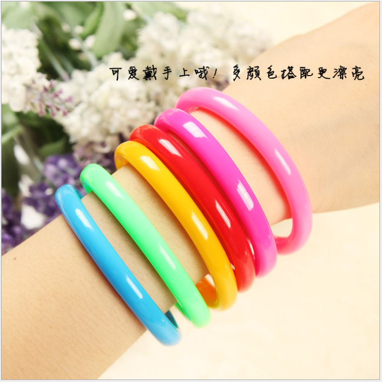 50pcs/lot 0.5mm Novelty Wristband Writing Ballpoint Pen Stationery Funny Kids Birthday Festival Party Favor Take-home Gifts
