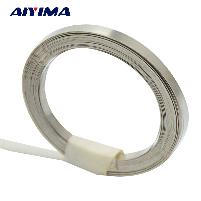 5M 3mm x 0.15 Ni Plate Nickel Strip Tape For Li 18650 18500 Battery Spot Welding