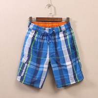 summer cotton beach shorts men's seaside vacation leisure five loose trend big board shorts