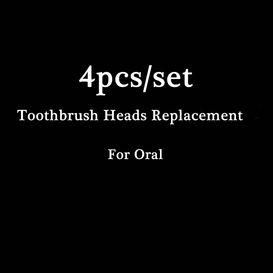 4pcs/set For Oral Hygiene Electric Toothbrush Heads Replacement For Oral Soft Bristles Tooth Brush Heads 2pcs philips sonicare replacement e series electric toothbrush head with cap