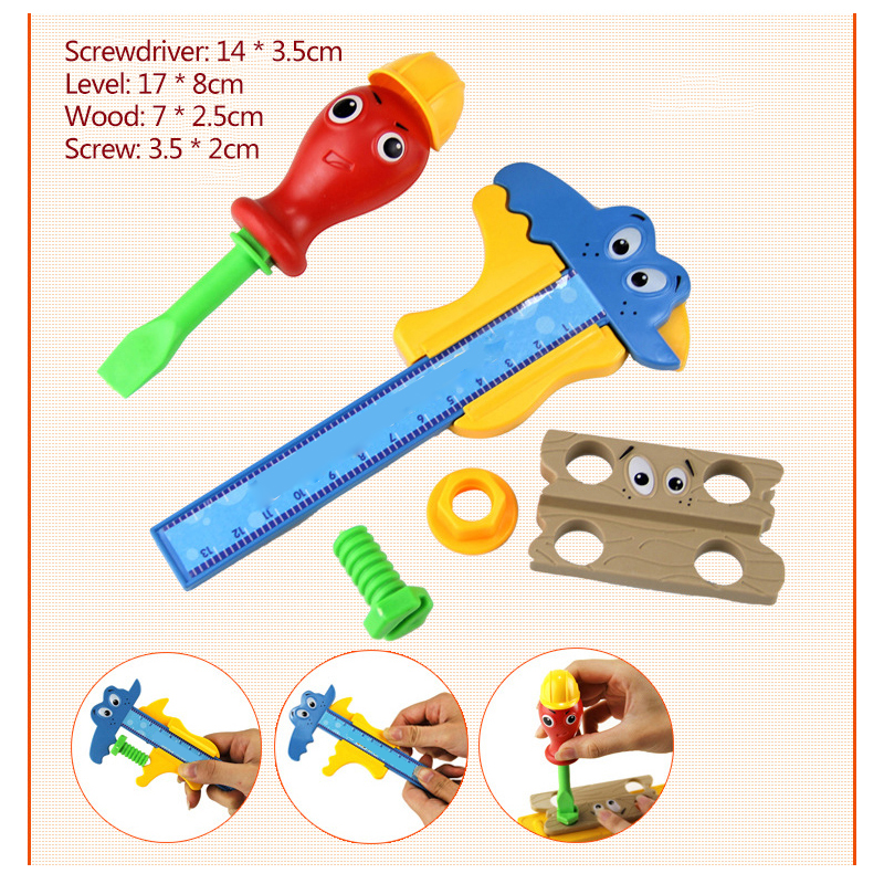 Tools Toys Hammer Toys Garden Tool Set Plastic Toy Hammer Play Boy Kids Tool Set New Gardening Childrens Tools Electric Drill 100% Guarantee Tool Toys