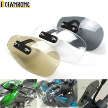 Motorcycle Accessories wind shield handle Brake lever hand guard for TRIUMPH 675 STREET TRIPLE R RX AMERICA LT
