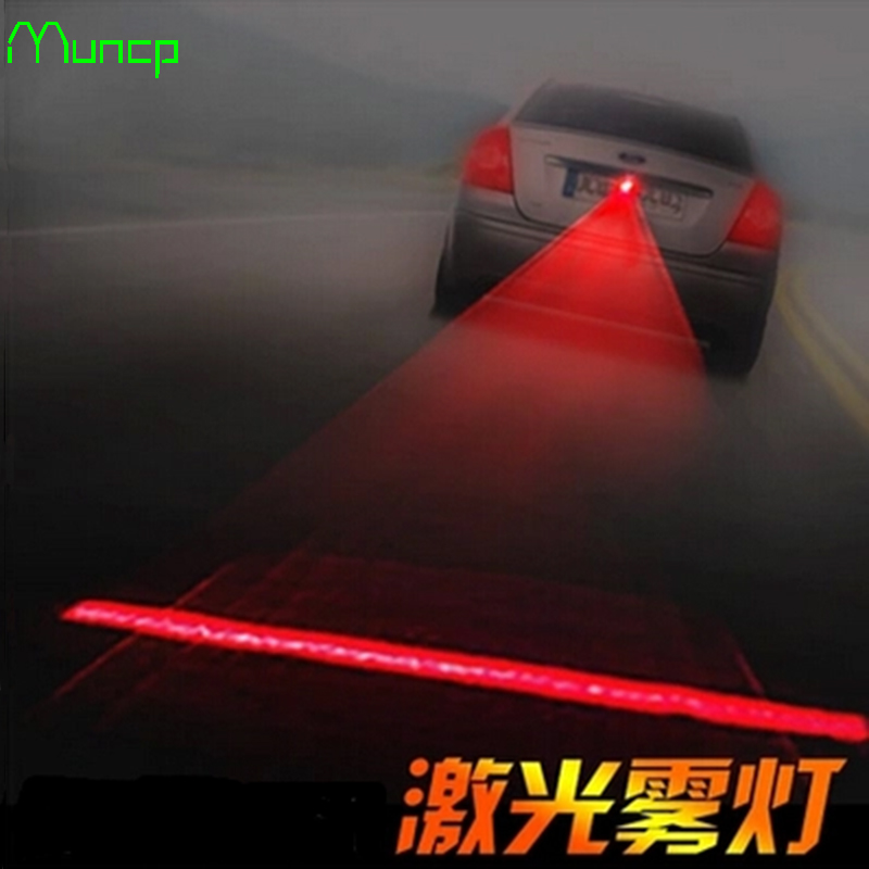 Muncp Auto Staart Laser Mistlamp Veiligheid Waarschuwingslampjes