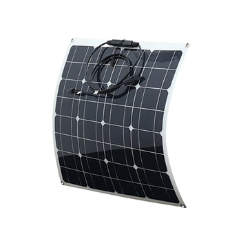 50W 18V Mono Solar Panels Battery Charger Trickle For Phone Car Boat