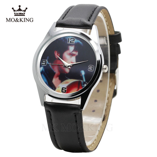 The New Elvis Presley Fashion Wrist Watch For Primary and middle school Boy Girl