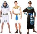 2016 Pharaoh Halloween cosplay adult costume children costume Egyptian Egypt princess family costumes Prince