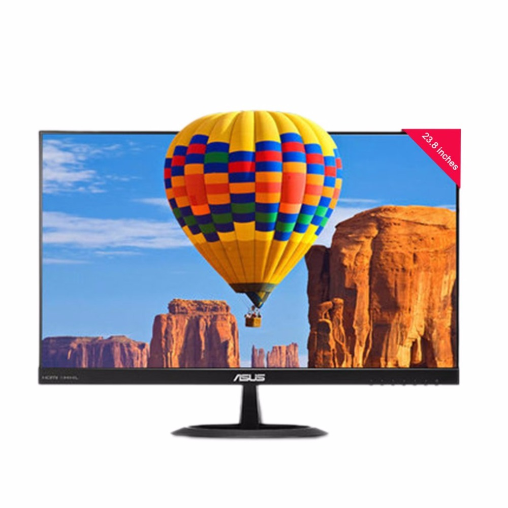 ASUS VX24AH 23.8 WQHD 16:9 Widescreen 2560x1440 IPS HDMI VGA Monitor For Eye Care Protection Flicker Free монитор asus vx24ah