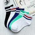 3 par meias das mulheres do sexo feminino casais mulheres meias chaussettes summer estilo casual respirável meia tornozelo curto bonito multicolor