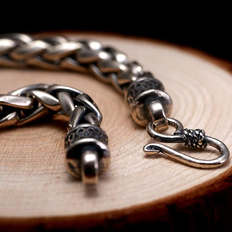 ZABRA 925 βραχιόλι ασημένια ανδρών - Κοσμήματα μόδας - Φωτογραφία 3