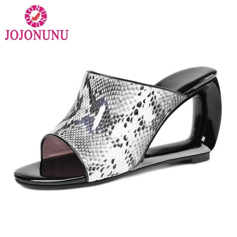 JOJONUNU Women Open Toe Summer Sandals