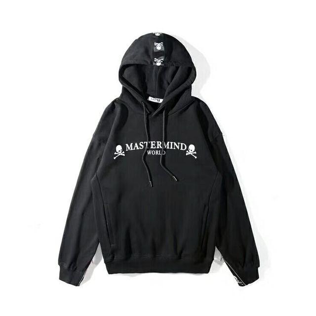 965e658a14a 2019SS NEW Best version Mastermind Japan behind Ribbon stripe Skeleton  Zipper Men Women Pullover Hoodies hip hop MMJ Sweatshirt