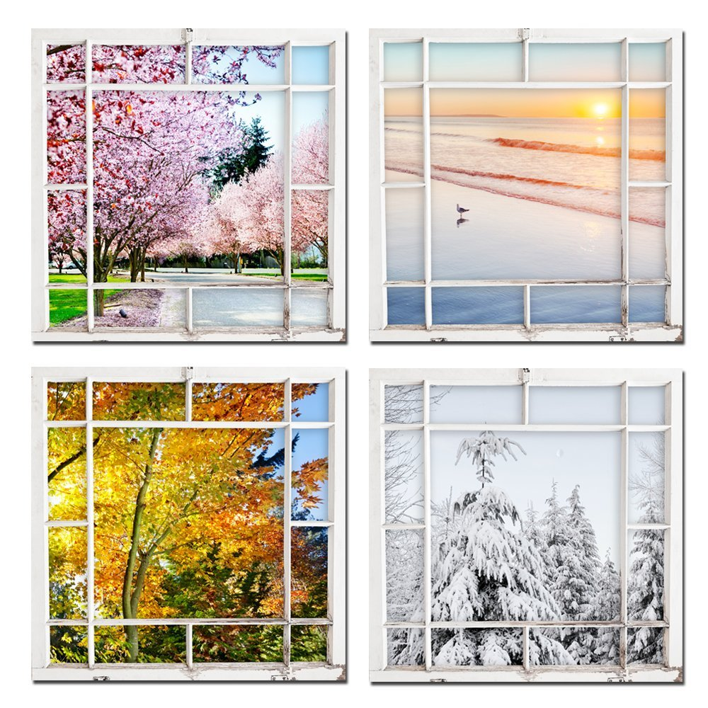 Window Frame Wall Art popular window wall art-buy cheap window wall art lots from china