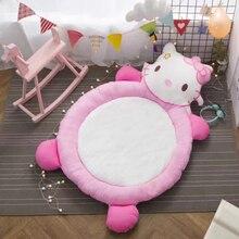 Высококачественные хлопковые мягкие детские игровые коврики, портативные детские игрушки, домашние детские одеяла, детские коврики, коврик для ползания