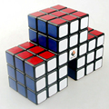 Cubetwist 57mm 3 en 1 Gran Muralla Conjunta Velocidad Cubo Cubo Mágico Puzzle Juego Juguetes Eductional Para Niños Niños