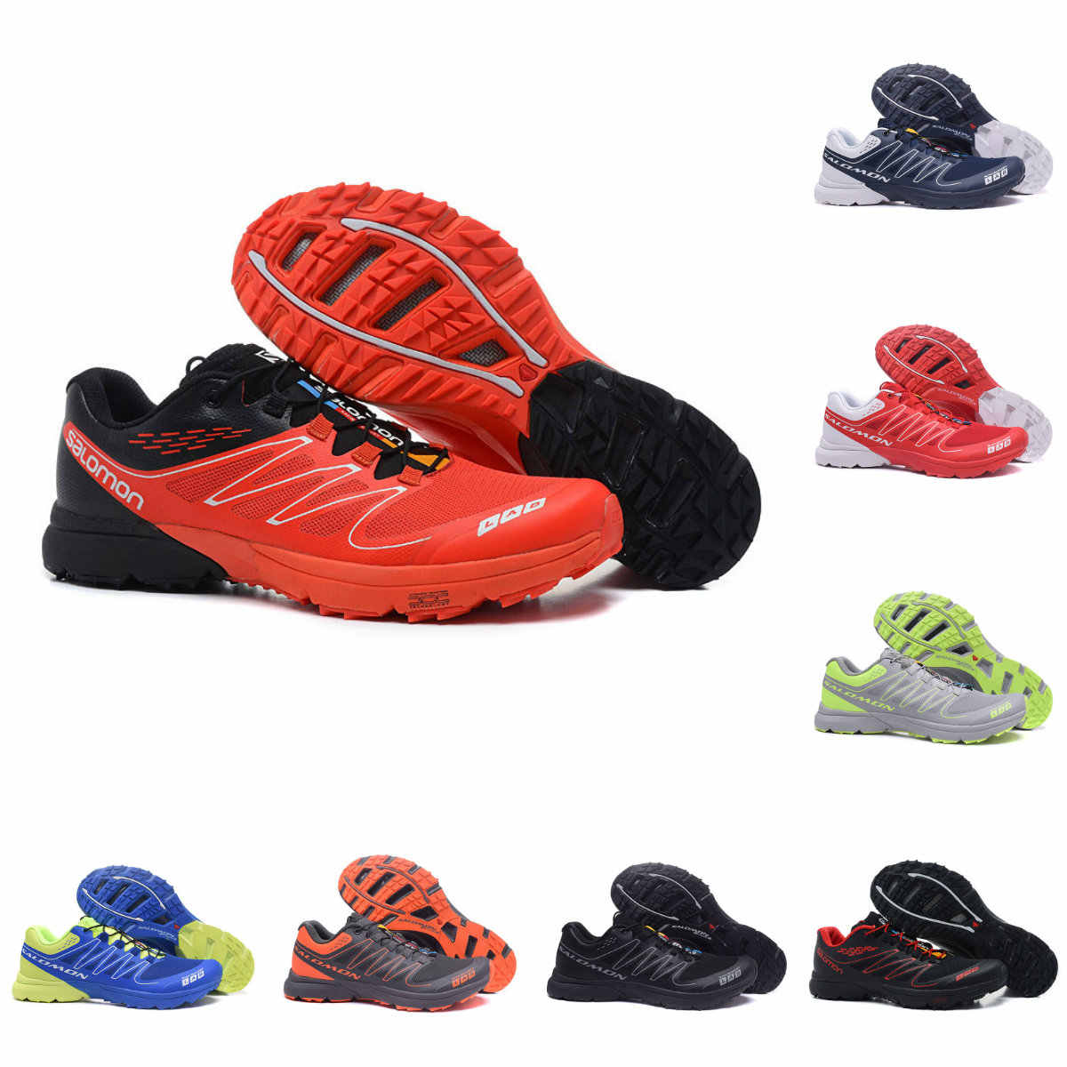 release date: 7786e 17090 New Salomon S-LAB SENSE M Men s Shoes Outdoor Jogging Sneakers Lace Up  Athletic Shoes