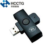 Черный ACS Smart чип-карт mini ACR38U-ND с Micro USB интерфейс
