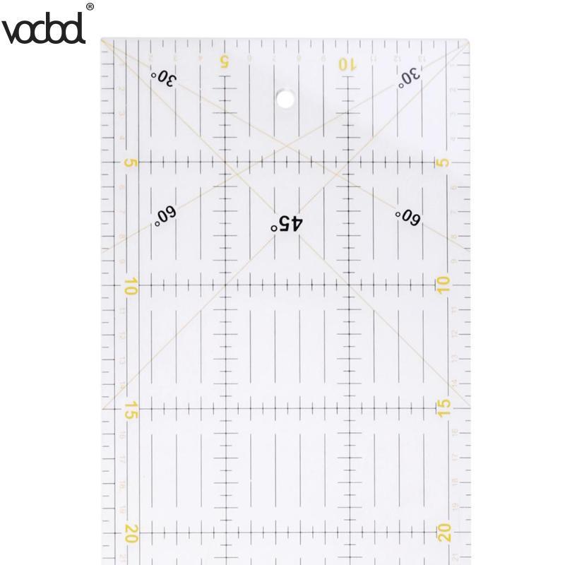 VODOOL 60 * 15 cmパッチワークルーラー裁縫ルーラーフィートテーラールールヤードスティック布カット学生DIY手の映像インターナショナル一般的なカッティングマット