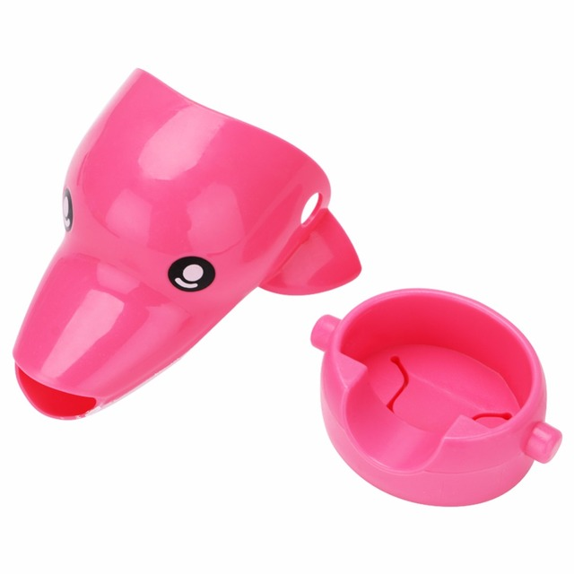 Animals Faucet Extender Baby Tubs Kids Hand Washing Bathroom Sink Gift Fashion and Convenient Kitchen Faucet Head Water Spout  3