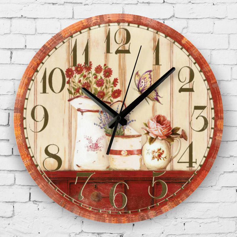 L Univers D Inès Mediterranean Style: Mediterranean Style Home Decoration Watch Wall Absolutely