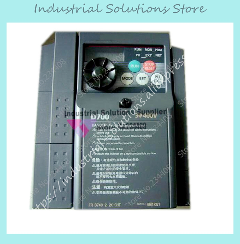 Input 3 ph 380V Output 3 ph Inverter FR-D740-0.75K-CHT 380~480V 2.2A 0.75KW 0.2~400Hz New input 3 ph 380v output 3 ph inverter fr d740 5 5k cht 380 480v 12a 5 5kw 0 2 400hz new original