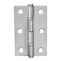 MTGATHER 6Pcs Stainless Steel Boat Marine Cabinet Drawer Door Butt Hinge 2 5 With Screws Wooden