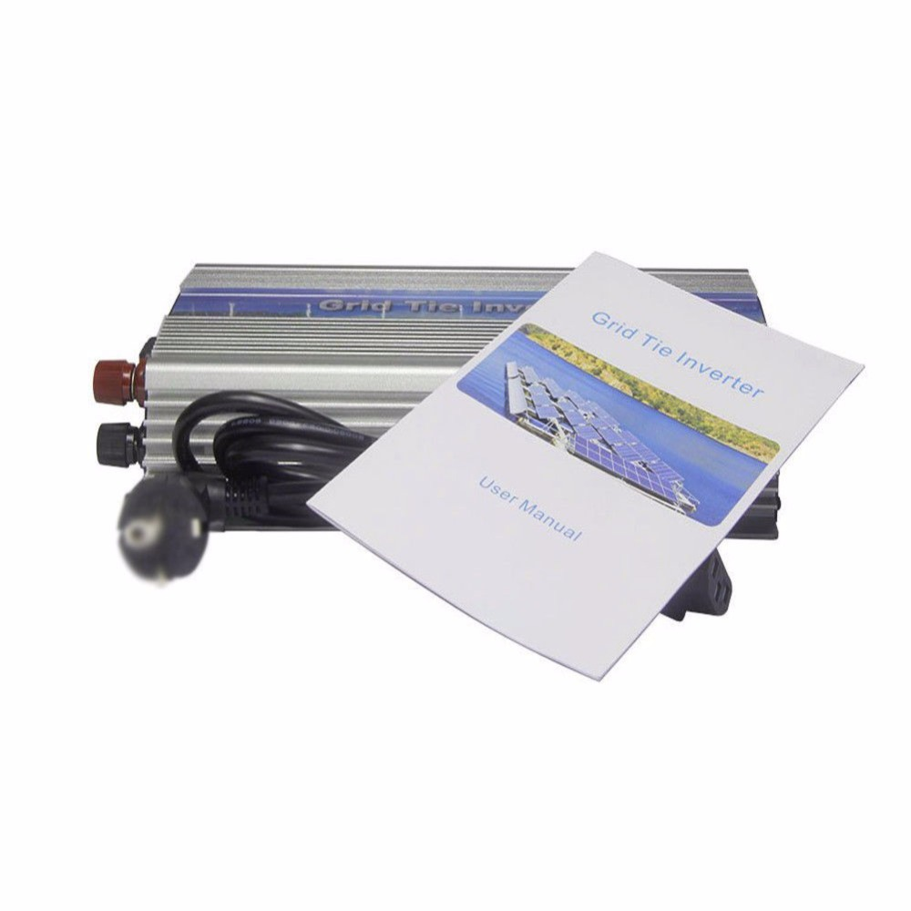 1000W Grid Tie Inverter 110V or 220V Output MPPT Pure Sine Wave Inverter Power micro inverters on grid tie with mppt function 600w home solar system dc22 50v input to ac output for countries standard use