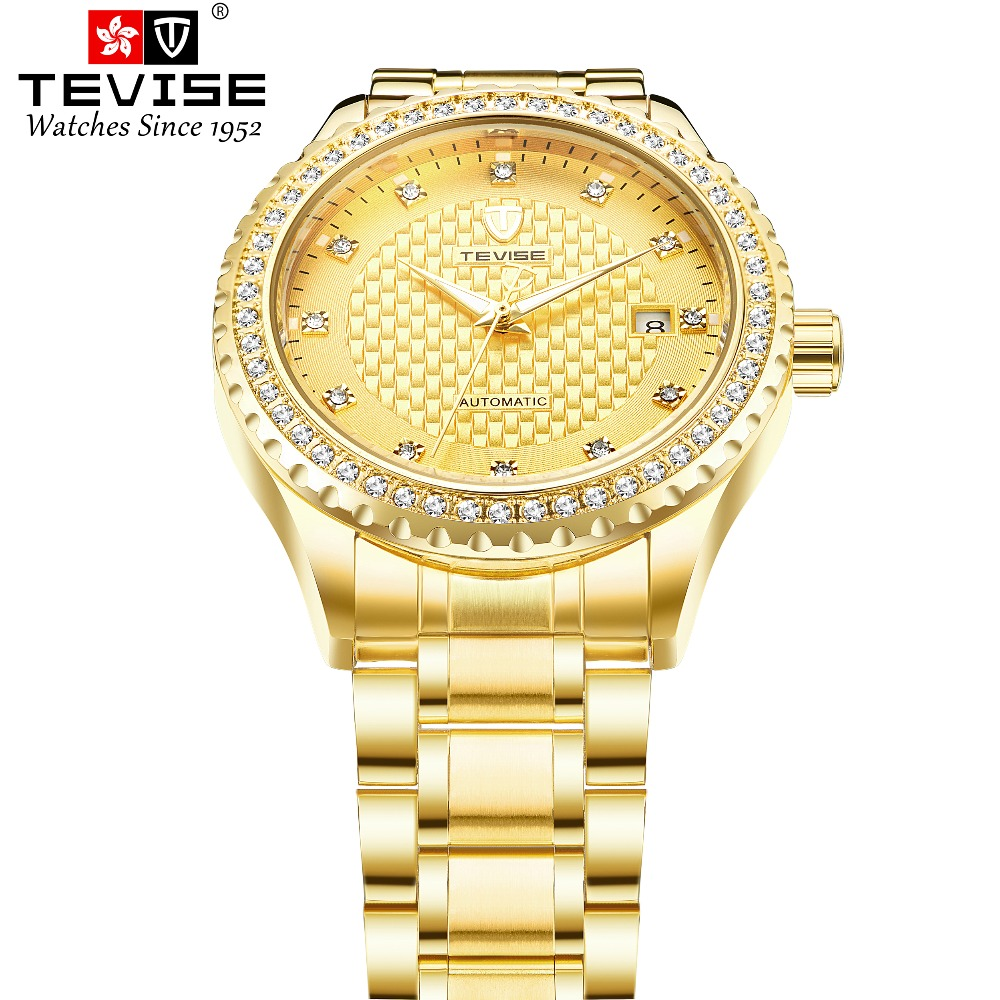 TEVISE Men Automatic self-wind Wristwatches Auto Date Man watches Man Luxury Mechanical watch Diamond man clock Relojes HombreTEVISE Men Automatic self-wind Wristwatches Auto Date Man watches Man Luxury Mechanical watch Diamond man clock Relojes Hombre