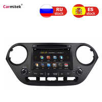 car radio Double din For Hyundai Grand i10 2013--2016 touch screen dvd multimedia player system gps navigation Stereo Autoradio