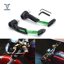 Universal 22mm Motorcycle Motocross Handlebar Clutch Brake Lever Protect Guard for   KTM 150 EXC450 Kawasaki MotocrossYZ YZF WR