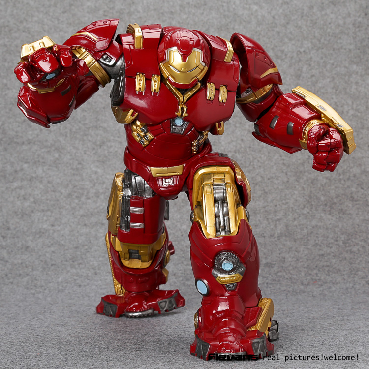 Crazy Toys Avengers Age of Ultron Hulkbuster Mark 44 PVC Action Figure Collectible Model Toy 10 26cm 2017 new style spring autumn hoodie baby girl clothing set sequin lace long sleeve velour sports jacket long trousers outfits