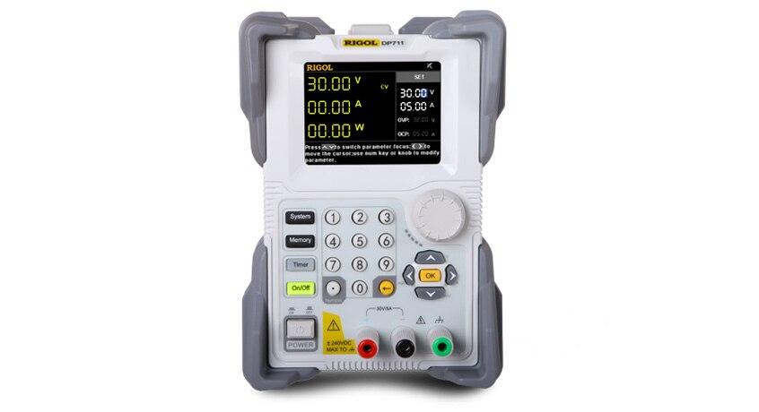 Rigol DP711 単一出力 30 V/5A 総電力まで 150 ワット電源  グループ上の ツール からの 電圧計 の中 1